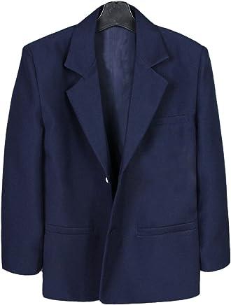 929bb15ee8a0 Leadertux Little Baby Toddler Kids Boys Navy Notch Lapel Suits Jacket Size  S-7 (