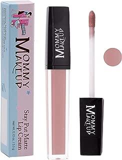 Stay Put Matte Lip Cream | Kiss-Proof Matte Lipstick - Paraben Free - Heather, a dusty pink mauve