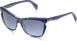 Just Cavalli Women''s Sonnenbrille JC738S5792W Sunglasses, Blue (Blau), 57