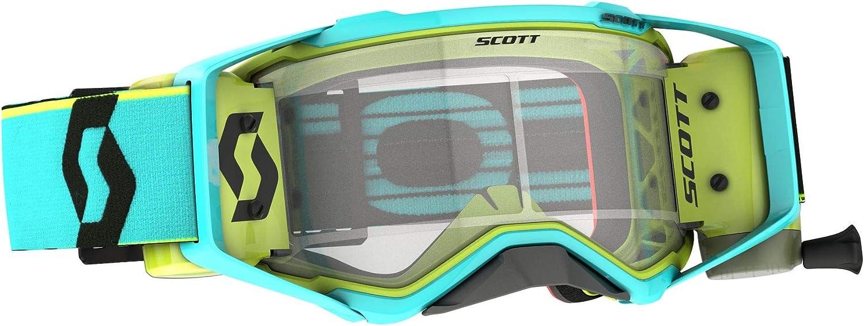 Scott Prospect Wfs Mx Goggle Cross Mtb Brille Schwarz Gold Klar Works Sport Freizeit