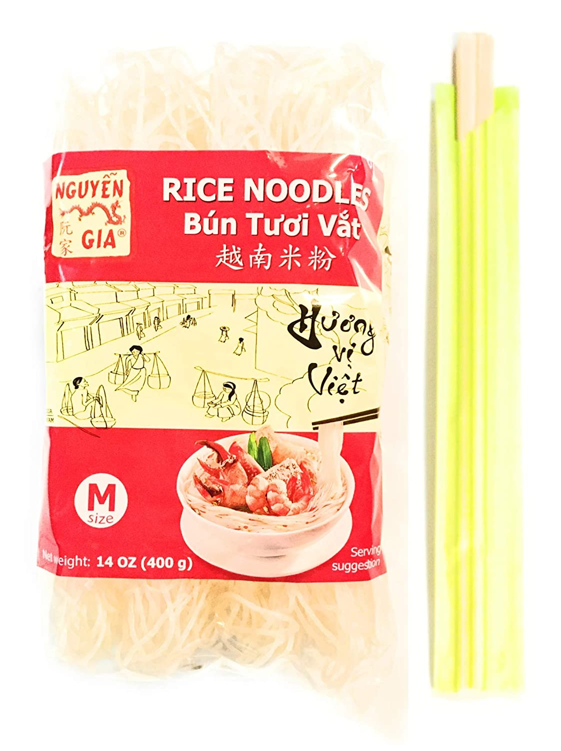 Nguyen Gia Rice Noodles overseas Our shop OFFers the best service 14 Oz Medium 4 -4 And Pairs Pack Of Size
