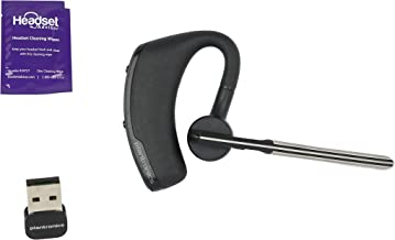 Plantronics Voyager Legend UC Bluetooth Headset With Mini USB Adapter For Mobile and Computer (Renewed)