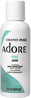 Adore Semi-Permanent Haircolor #195 Jade 4 Ounce (118ml)