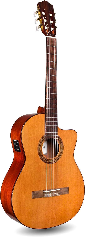 Cordoba Guitars Withouth Gig Bag - Guitarra Electroacústica (cedro), Color Marrón