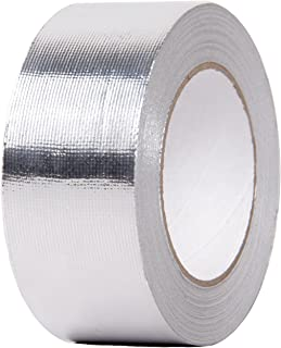 HiwowSport Aluminized Foil Heat Shield Thermal Barrier Adhesive Backed Heat Reflective Tape 2