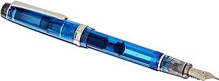 Pilot Fountain Pen Custom Heritage 92, Transparent Blue Body, B-Nib (FKVH-15SRS-TL-B)