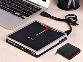 $109 » Sponsored Ad - 5 in 1 External Blu Ray Drive USB 3.0 Type-C Blueray CD DVD Drive Player Burner for Laptop Mac MacBook Pro ...