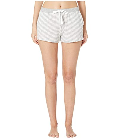 Skin Marin Shorts (White/Heather Grey Stripe) Women