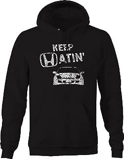 OS Gear Distressed - Keep Hatin Racecar Prelude Lowered Fast JDM Race Sweatshirt