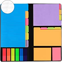 JARLINK 578-in-1 Divider Sticky Notes Set, Super Sticky Page Markers Prioritize with Color Coding, 60 Ruled, 40 Dotted, 40...