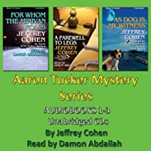 AARON TUCKER MYSTERY Series 1-3 [Unabridged MP3-CD] by Jeffrey Cohen (DEATH IS A CABARET, THE WEEDLESS WIDOW, THE MARRIAGE CASKET)