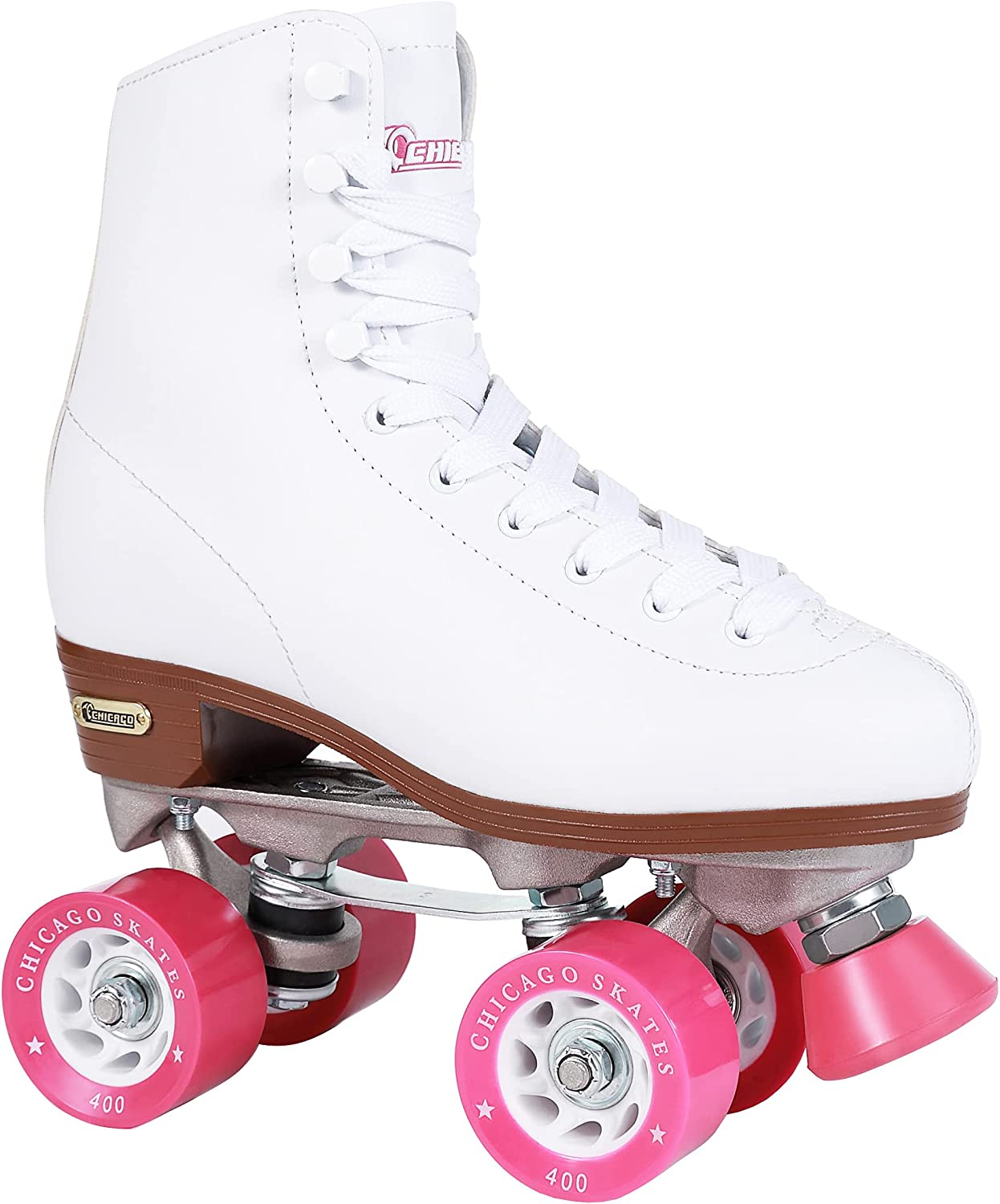 CHICAGO Women's Classic Roller Skates Quad Limited overseas time sale Rink - White Premium
