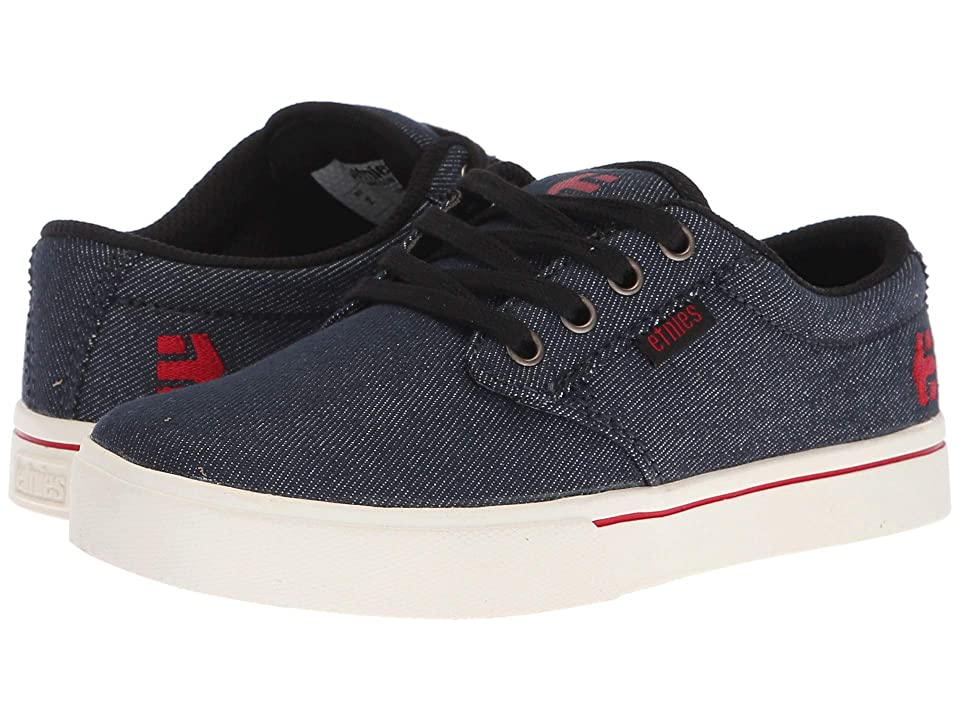etnies Kids Jameson 2 Eco (Toddler/Little Kid/Big Kid) (Navy/Tan) Boys Shoes