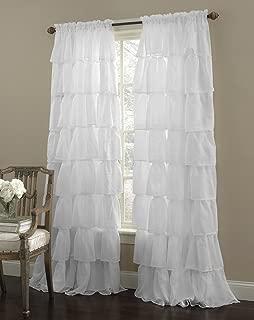 Best sheer ruffled curtains Reviews