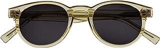 Opulize Rox Super Elegante Trasparente Oro Donna Lettori Sole Occhiali Da Lettura UV400 Cerniere Metallololiche Giro S89-9...