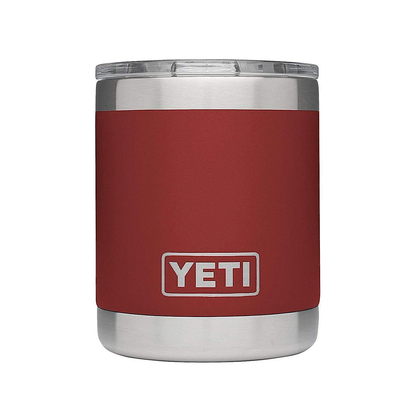 罪類推カジュアル[(イエティ) YETI] [296ml ミニタンブラー ローボールシリーズ, 9カラー Rambler Lowball 10 oz Stainless Steel Cup with Lid, 9 Colors] (並行輸入品)