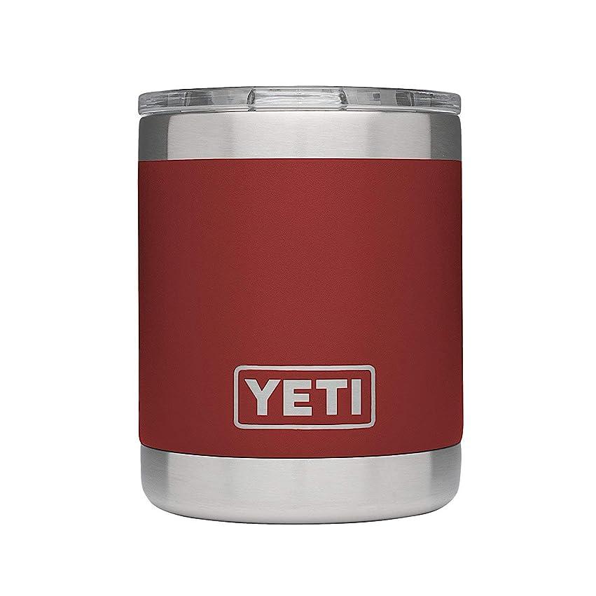 剥離履歴書放送[(イエティ) YETI] [296ml ミニタンブラー ローボールシリーズ, 9カラー Rambler Lowball 10 oz Stainless Steel Cup with Lid, 9 Colors] (並行輸入品)