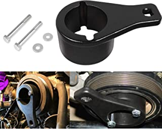 Yoursme for Lexus and Toyota Crankshaft Damper Pulley Holder Harmonic Balancer Pulley Holding Tool with 2PCS Crank Bolts