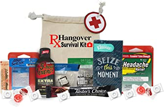 Premade and Fully Loaded Hangover Kit - Headache Relief - 21st Birthday Gift - Bachelorette Party - Bridal Gift