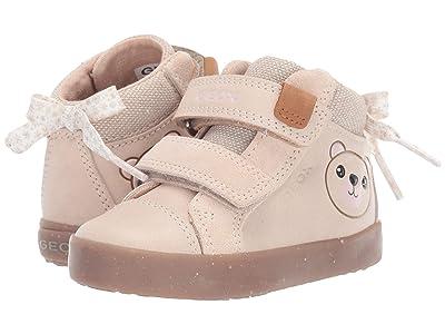 Geox Kids Kilwi 63 (Toddler) (Light Beige) Girls Shoes