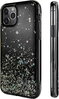 SWITCHEASY iPhone 11 Pro Max Clear Case - Starfield Luxury Fashion Glitter Hard Case Transparent Clear Shiny Bling Sparkling Protective Cover for Women (Transparent Black, 2019 iPhone 6.5