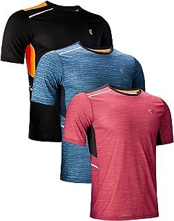 GEEK LIGHTING Men's Athletic Dry Fit Short Sleeve T Shirts
