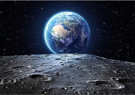 Oedim Stickers muraux Photo Image Infantile | La Terre Vue de la Lune | De  100 x 70 cm | Sticker Vinyle Adhésif Autocollant Fond Mural |: Amazon.fr:  Cuisine & Maison