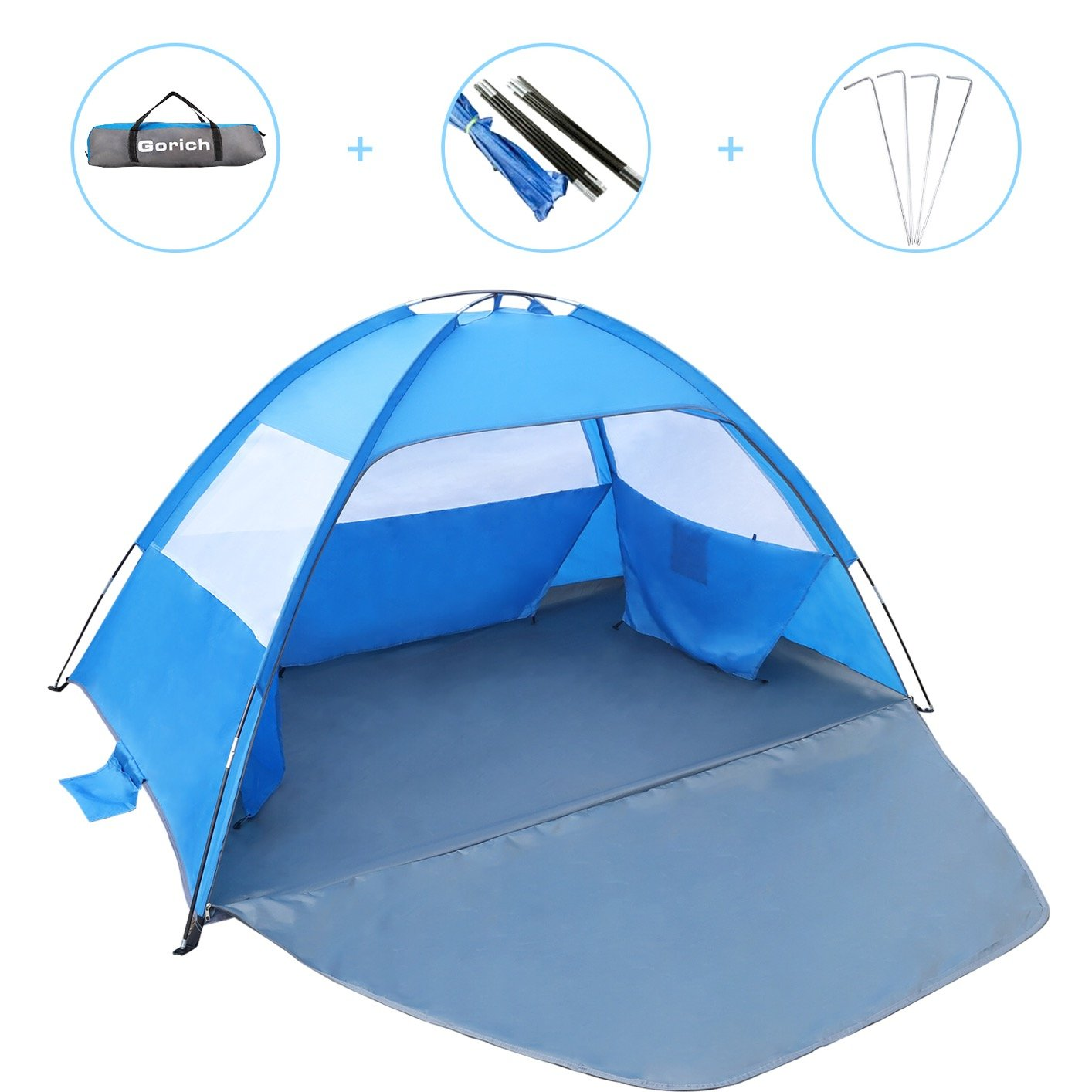 Gorich Tent%EF%BC%8CUV Shelter Lightweight Canopy