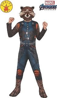 Rubie's Marvel Avengers: Endgame Child's Rocket Raccoon Costume & Mask, Medium