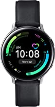 Samsung Galaxy Watch Active 2 - Smartwatch de Acero, 40mm, color Plata, LTE [Versión española]