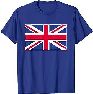 Union Jack Tshirt Flag of UK