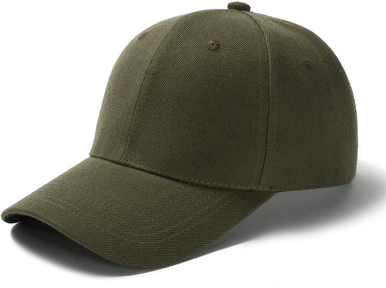 HH HOFNEN Unisex Baseball Cap Mesh Back Cap Cotton Adjustable Dad Hat Plain