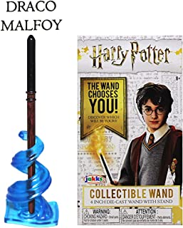 Jakks Pacific - Harry Potter Collectible Die-Cast Wand - Draco Malfoy (4 inch)