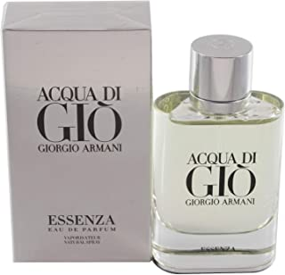 Acqua Di Gio Essenza by Giorgio Armani Eau De Parfum Spray For Men 2.5 OZ.