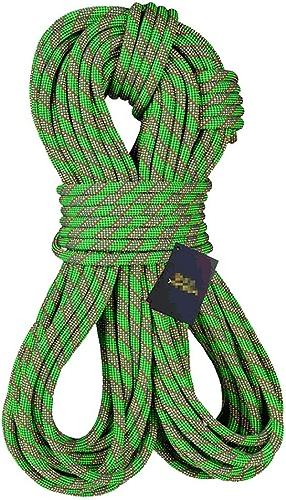 LBYMYB Corde d'escalade Corde électrique Sauvetage Sauvetage Corde Travail aérien Corde Rappel Corde diamètre 10.5mm Vert Corde d'escalade (Taille   10m)
