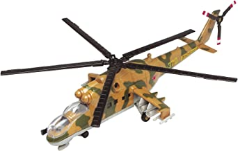 Motor Max 1:60 Plane Mil Mi-24 Hind Diecast Aircraft,,