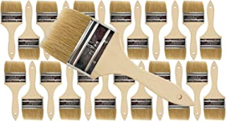 Pro Grade - Chip Paint Brushes - 24 Ea 3 Inch Chip Paint Brush