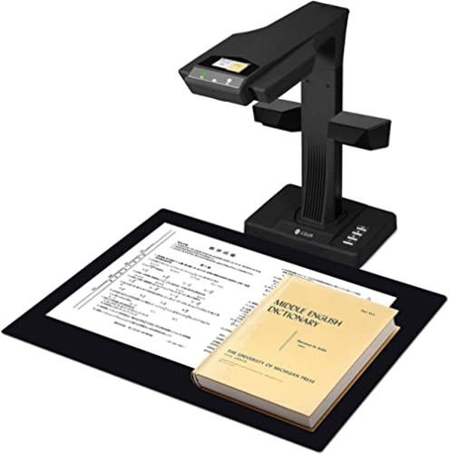 CZUR Professional Document Scanner ET18-P, Fast Recognition Scanner, 18MP High Definition, A3 Size Capture, 186 Langu...