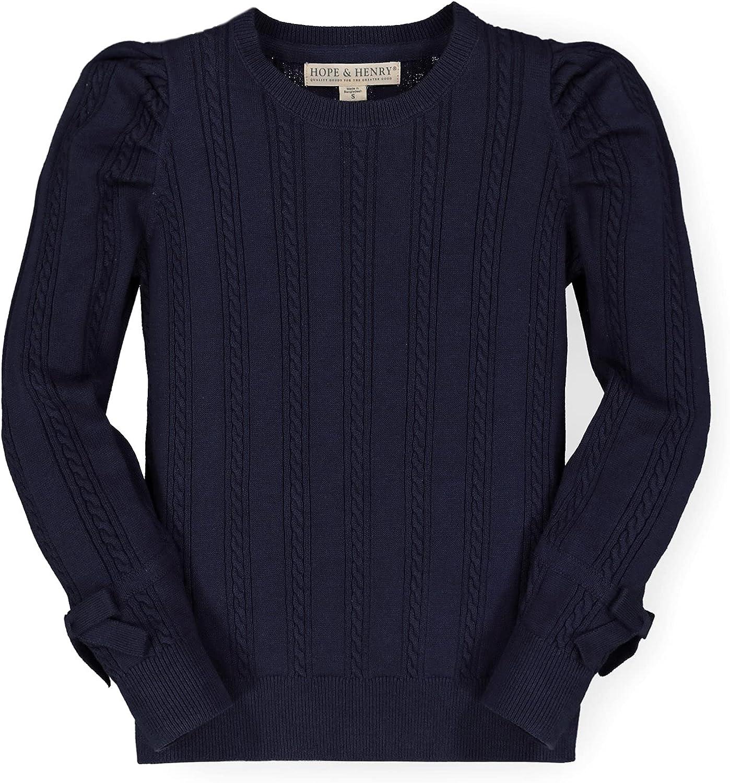 Hope Henry Girls' Long Sleeve Knit Superior Top Rib Sweater San Antonio Mall