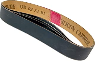 "1""X18"" 400 Grit Sanding Belts - 5 pack Silicon Carbide fits Ken Onion Blade Grinding Attachment"