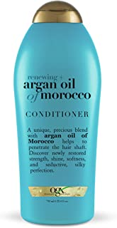 OGX Renewing Moroccan Argan Oil Conditioner, Salon Size, 25.4 Fluid Ounce (Pack of 4)