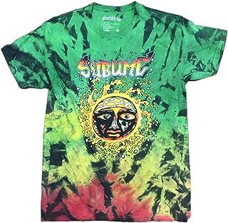 FEA Mens Sublime 40 Oz to Freedom Blue Tie Dye T-Shirt