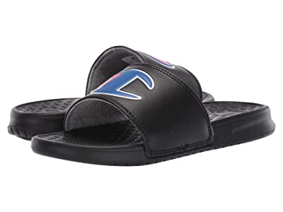 Champion Kids Super Slide (Little Kid) (Black) Kid