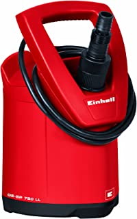 comprar comparacion Einhell 4170666 GE-SP 750 LL - Bomba de aguas sucias (750W, capacidad de 15.000 l/h, profundidad max. de inversión 5m)