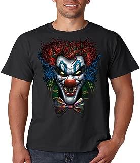 Juiceclouds Evil Clown T Shirt Psycho Clown Liquid Blue Mens Tee S-5XL