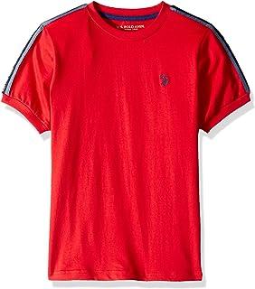 U.S. POLO ASSN. Boys' Little Classic Crew Neck Jersey T-Shirt