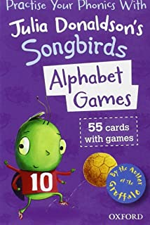 Oxford Reading Tree Songbirds: Alphabet Games Flashcards by Julia Donaldson (4-Jul-2013) Cards