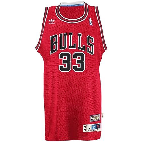 huge selection of 45d89 45123 Chicago Bulls Jersey: Amazon.co.uk