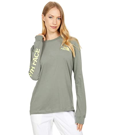 The North Face Simple Logo Long Sleeve Tee Women