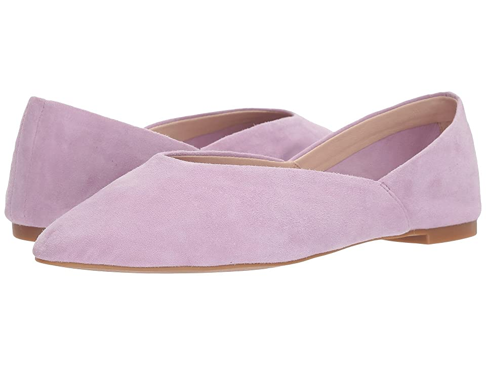 Nine West Monika 40th Anniversary Flat (Light Purple Suede) Women